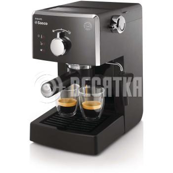 Рожковая кофеварка эспрессо Saeco Poemia Manual Espresso (HD8423/19)