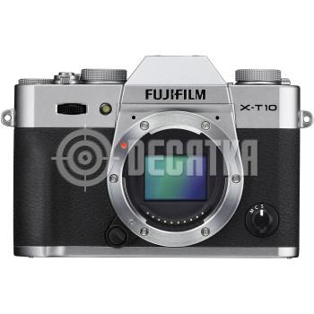 Компактный фотоаппарат со сменным объективом Fujifilm X-T10 silver body