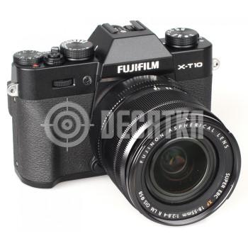 Компактный фотоаппарат со сменным объективом Fujifilm X-T10 kit (18-55mm f/2.8-4.0 R) Black