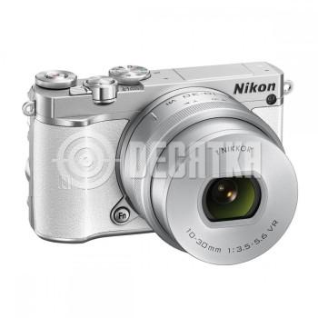 Компактный фотоаппарат cо cменным объективом Nikon 1 J5 kit (10-30mm VR) White