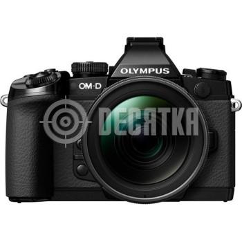 Компактный фотоаппарат со сменным объективом Olympus OM-D E-M1 kit (12-40mm) Black