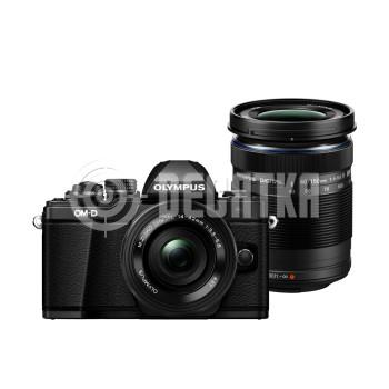 Компактный фотоаппарат со сменным объективом Olympus OM-D E-M10 Mark II kit (14-42mm + 40-150mm)