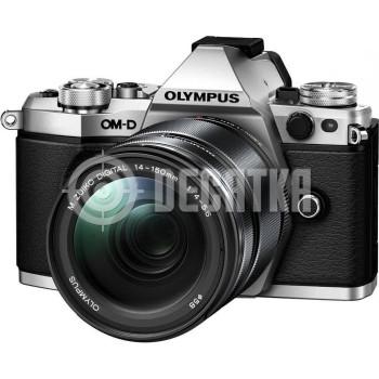 Компактный фотоаппарат со сменным объективом Olympus OM-D E-M5 Mark II kit (12-40mm) Silver