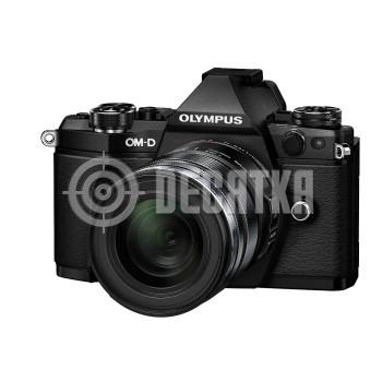 Компактный фотоаппарат со сменным объективом Olympus OM-D E-M5 Mark II kit (12-50mm) Black