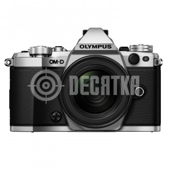 Компактный фотоаппарат со сменным объективом Olympus OM-D E-M5 Mark II kit (12-50mm) Silver