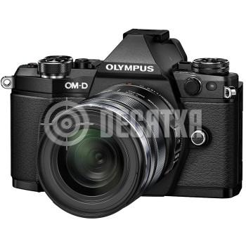 Компактный фотоаппарат со сменным объективом Olympus OM-D E-M5 Mark II kit (14-150mm) Black