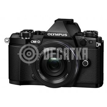 Компактный фотоаппарат со сменным объективом Olympus OM-D E-M5 Mark II kit (14-42mm) Pancake Zoom Black