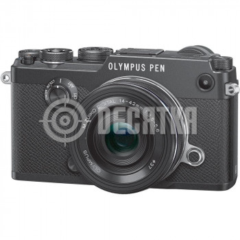 Компактный фотоаппарат со сменным объективом Olympus PEN-F kit (14-42mm) Black