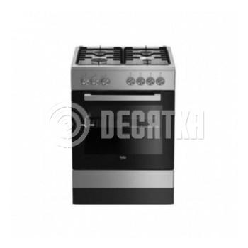 Комбинированная плита Beko FSE62120DX