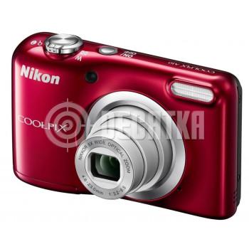 Компактный фотоаппарат Nikon Coolpix A10 Red