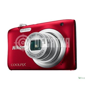 Компактный фотоаппарат Nikon Coolpix A100 Red