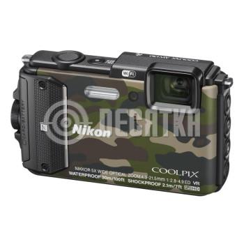 Компактный фотоаппарат Nikon Coolpix AW130 Camouflage