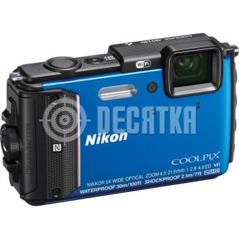 Компактный фотоаппарат Nikon Coolpix AW130 Blue