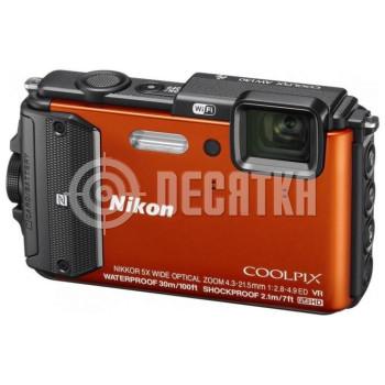 Компактный фотоаппарат Nikon Coolpix AW130 Orange