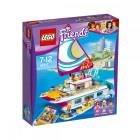 Пластиковый конструктор LEGO Friends Катамаран Саншай