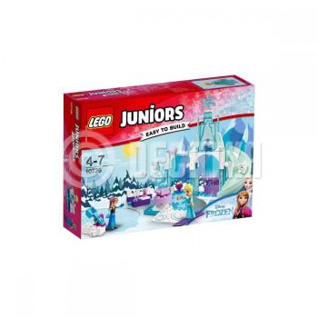 Пластиковый конструктор LEGO Juniors Игровая площадка Эльзы и Анны (10736)