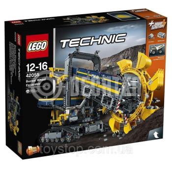 Пластмассовый конструктор LEGO Technic Роторный экскаватор (42055)