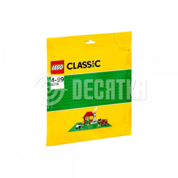 Пластиковый конструктор LEGO Classic Зелёная базовая пластина 32х32 (10700)