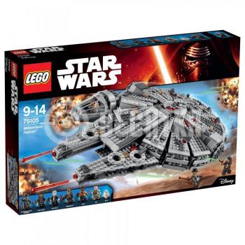 Пластиковый конструктор LEGO Star Wars Тысячелетний сокол (75105)