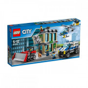 Пластиковый конструктор LEGO City Ограбление на бульдозере