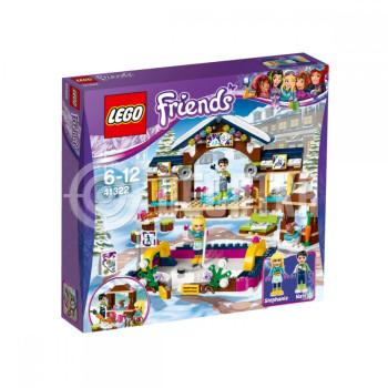 Пластиковый конструктор LEGO Friends Горнолыжный курорт: каток (41322)