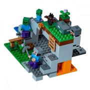 Пластиковый конструктор LEGO Minecraft Пещера зомби