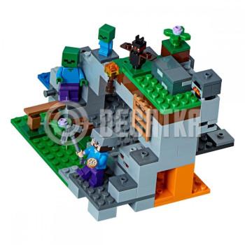 Пластиковый конструктор LEGO Minecraft Пещера зомби (21141)