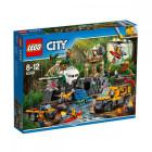 Пластиковый конструктор LEGO City База исследователей джунглей