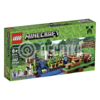 Пластмассовый конструктор LEGO Minecraft Ферма (21114)
