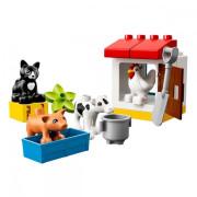 Пластиковый конструктор LEGO DUPLO Ферма: домашние животные