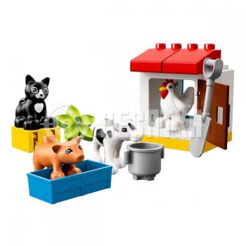 Пластиковый конструктор LEGO DUPLO Ферма: домашние животные (10870 )