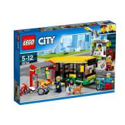 Пластиковый конструктор LEGO City Автобусная остановка
