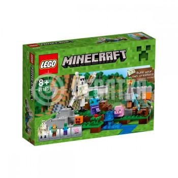 Пластиковый конструктор LEGO Minecraft Железный голем (21123)