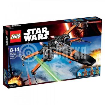 Пластиковый конструктор LEGO Star Wars Х-подобный истребитель По (75102)