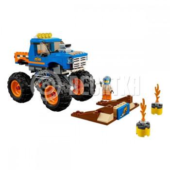 Пластиковый конструктор LEGO City Грузовик-монстр (60180)