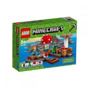 Пластмассовый конструктор LEGO Minecraft Грибной остров