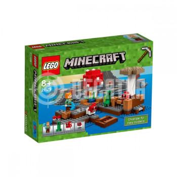 Пластмассовый конструктор LEGO Minecraft Грибной остров (21129)