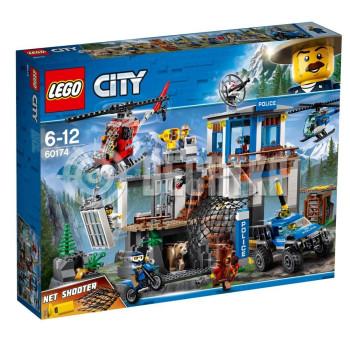 Пластиковый конструктор LEGO City Штаб-квартира горной полиции (60174)