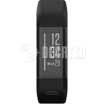 Фитнес-браслет Garmin vivosmart HR+,GPS, WW, Black, Regular (010-01955-42)