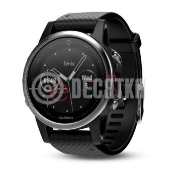 Спортивные часы Garmin fenix 5s Silver/Black (010-01685-02)