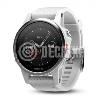 Спортивные часы Garmin fenix 5S White with Carrara White Band (010-01685-00)