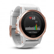 Спортивные часы Garmin fenix 5S Rose Goldtone Sapphire with White Band