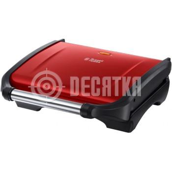 Электрогриль прижимной Russell Hobbs 19921-56 Flame Red Grill