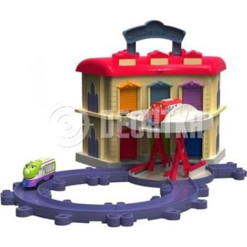 Детская железная дорога Tomy Депо с подъемным механизмом LC54217