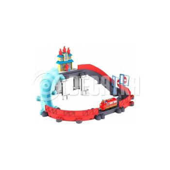 Детская железная дорога Tomy Спасение от пожара с паровозиком Уилсоном (LC54254)