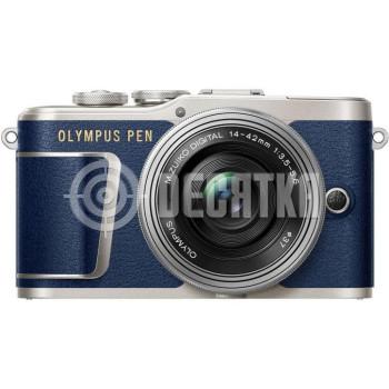 Беззеркальный фотоаппарат Olympus PEN E-PL9 kit (14-42mm) Blue
