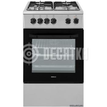 Комбинированная плита Beko CSE 52020 DX
