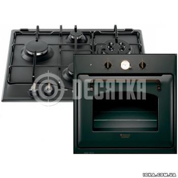 Варочная поверхность газовая с духовкой Hotpoint-Ariston FT 850.1 (AN) + PC 640 T (AN)