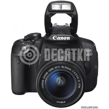 Зеркальный фотоаппарат Canon EOS 700D kit (18-55mm) EF-S IS STM