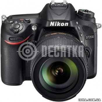 Зеркальный фотоаппарат Nikon D7200 kit (18-140mm VR)